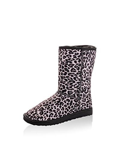 Los Ojo's Botas de invierno Leopard