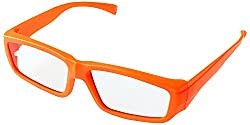 MPRO-TECH MPRO284 Kids Circular 3D Video Glasses (Orange)