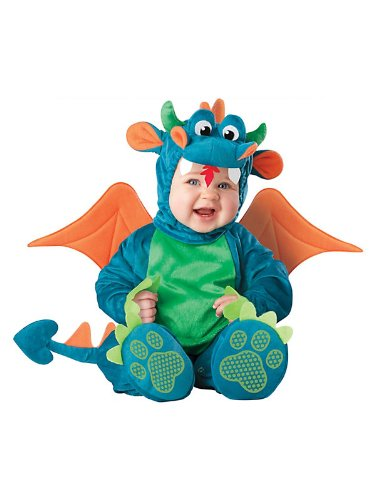 WMU - Dinky Dragon Infant Costume 18 Months-2T