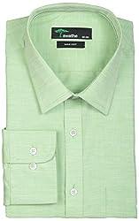 SWATHE Men's Formal Shirt (6162-3-38, Green)