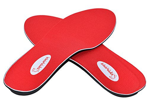 Orthotics for Flat Feet by Samurai Insoles- Fight back against Plantar Fasciitis, Heel Pain, and Pronation. Simply Insert Our Arch Supports Into Mens or Womens Running Shoes, Dress Shoes or Boots (Flat Feet Insoles compare prices)