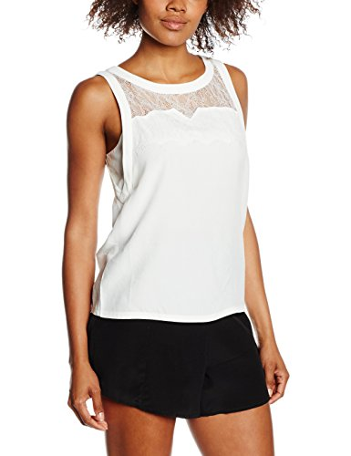 SEE U SOON 5112039, Top Donna, Carne (Off White), 40