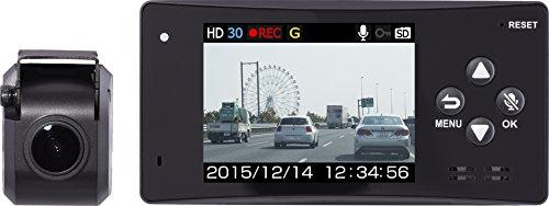 コムテック ドライブレコーダー 駐車監視モード搭載 セパレート型1年保証モデル 日本製 HDR-111S