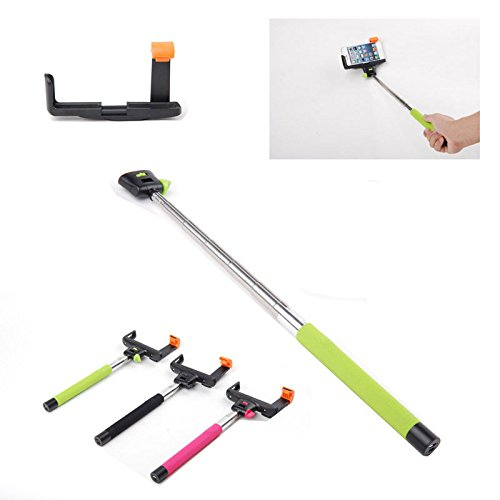 Sbx Wireless Bluetooth Monopod With Remote Shutter Button 2 In 1 Extendable Camera Self Portraits Selfie Handheld Stick Holder Monopod For Iphone 5 5S 4S 4 Samsung Galaxy S5 S4 S3 Note 3 2 Motorola Moto G Huawei Ascend Lg Optimus Amazon Fire Google Nexus