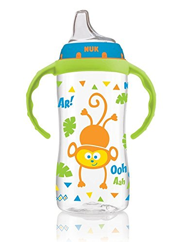 NUK Large Learner Cup, 10 Ounce, Circus Animals Colors Vary