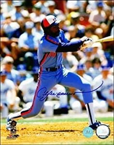 Andre Dawson Montreal Expos Autographed Hand Signed 8x10 Photo