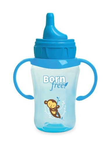 Born Free Bpa-Free 9 Oz. Drinking Cup, Blue back-736503