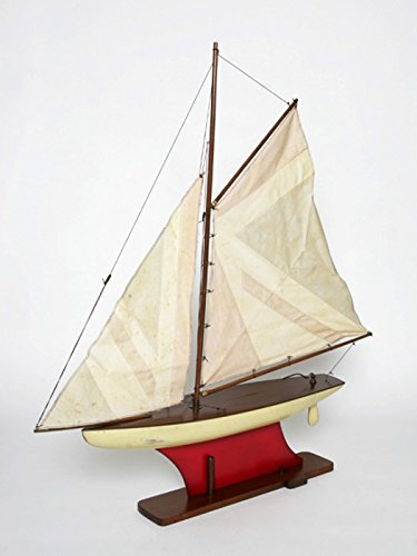 for MODEL SHIP WOODEN MODEL SHIP YACHT BOAT YACHT MODEL of FUEL UNION JACK AMERICA DETAIL BOAT + BRILLIBRUM FLYER