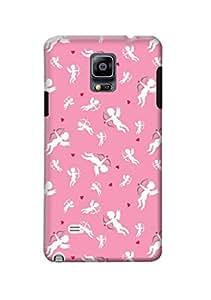 Samsung Galaxy Note 4 Back Case Kanvas Cases Premium Quality Designer 3D Printed Lightweight Slim Matte Finish Hard Cover for Samsung Galaxy Note 4