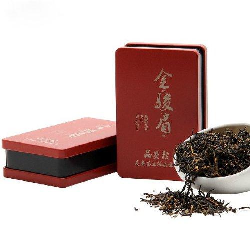 High-Grade Jin Jun Mei Golden Eyebrow Wuyi Chinese Black Tea 25G