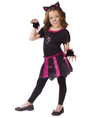 Kids-Costume Cat Sweetheart Child 4-6 Halloween Costume - Child 4-6
