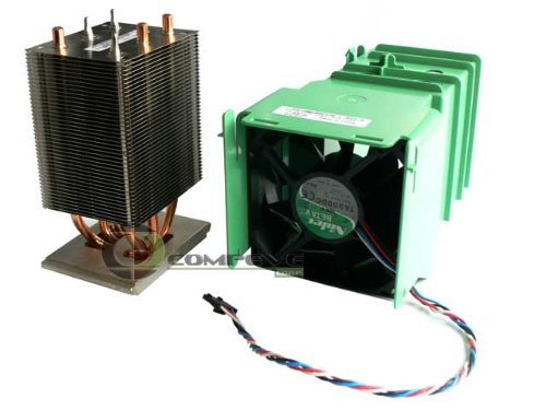Genuine Dell SC1420 Heatsink, Cooling Fan/Shroud