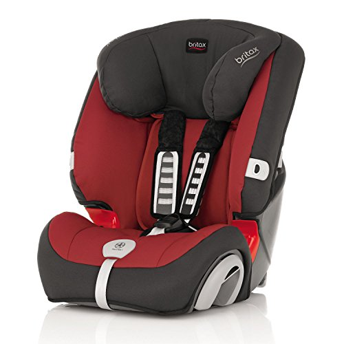 Britax Evolva 1-2-3 Plus Forward Facing Group 1 2 3 Car Seat (Chili Pepper)