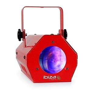 Ibiza LCM003LED-RED - Unidad de efecto de iluminación (LED), color rojo