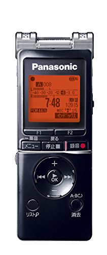 パナソニック ICレコーダー 4GB ブラック RR-XS460-K