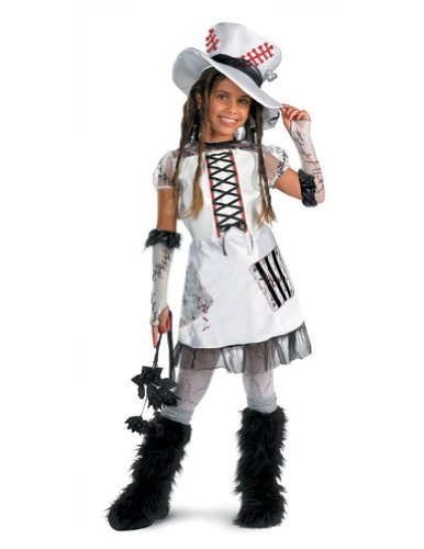Monster Bride White 7-8 Kids Girls Costume