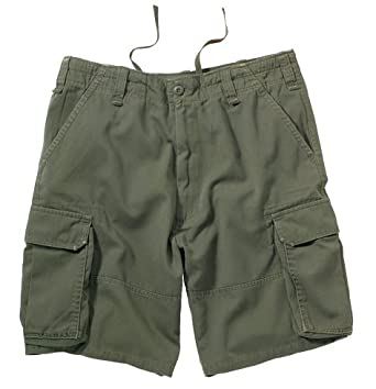 Olive Drab Vintage Paratrooper Cargo Shorts 2160 Size Extra Small