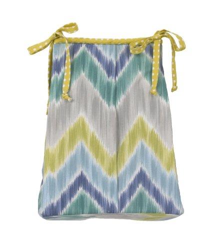 Cotton Tale Designs Diaper Stacker, Zebra Romp