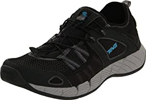 Teva Men's Churn Performance Water Shoe,Black,10.5 M US