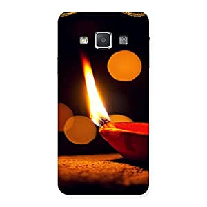 Special Positive Enlight Back Case Cover for Galaxy A3