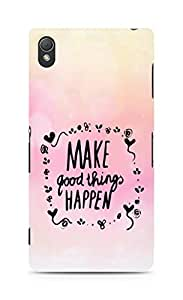 AMEZ make good things happen Back Cover For Sony Xperia Z3