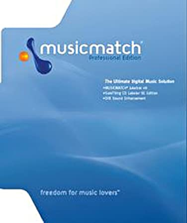 MusicMatch Jukebox Professional 8