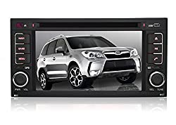 See Pumpkin 7 Inch For Subaru Forester 2008-2013 In Dash HD Touch Screen Car DVD Player USB/SD/BT/GPS/DVD/FM/AM Radio Stereo Navigation Details