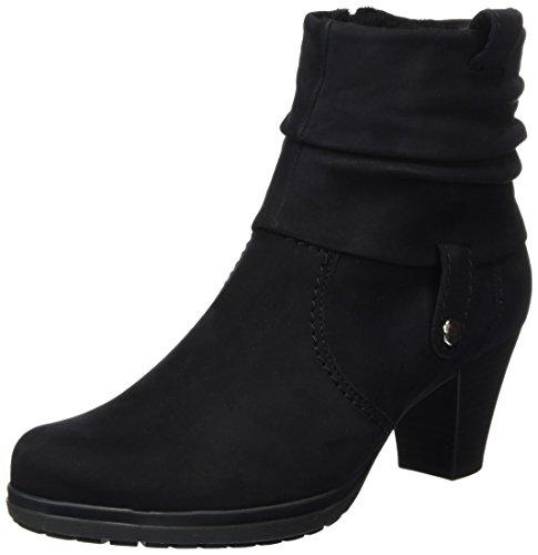 Gabor Shoes Comfort Basic, Stivaletti Donna, Nero (Schwarznickif.), 43 EU