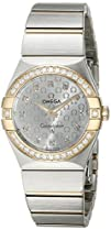 Omega Womens 123.25.27.60.52.001 Constellation Silver Dial Watch
