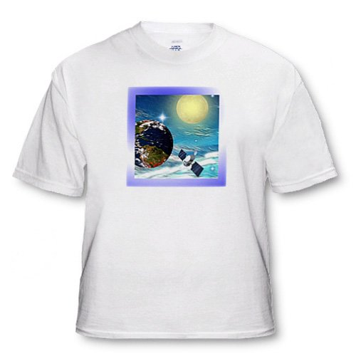 Space Station - Adult T-Shirt 3XL