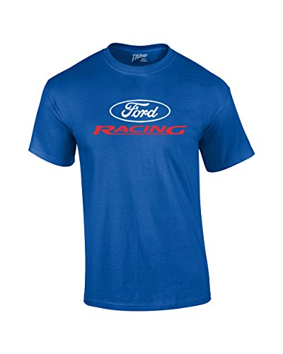 bb875526 Ford Racing T-shirt Ford Racing Logo Design-royal-large - Import It All