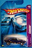 Mattel Hot Wheels 2007 1:64 Scale Blue With Flames 1967 Chevy Camaro Die Cast Car #042