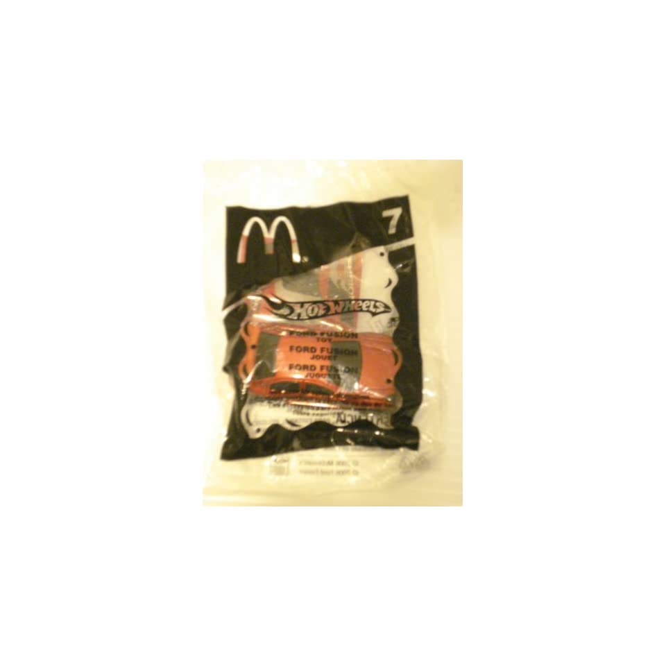 McDonalds Happy Meal Toy   Hot Wheels, Ford Fusion, #7