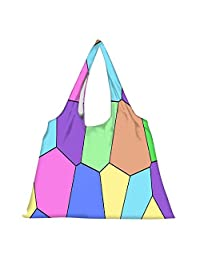 Snoogg High Strength Reusable Shopping Bag Fashion Style Grocery Tote Bag Jhola Bag - B01B96W7ZE