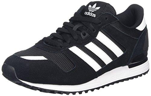 adidas Herren ZX 700 Sneakers, Schwarz (Core Black/Ftwr White/Core Black), 42 EU