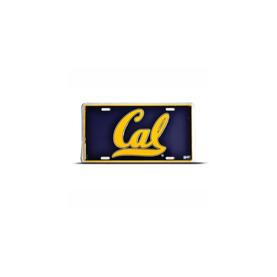 University Of California Metal College License Plate Wall Sign Tag Patio, Lawn & Garden