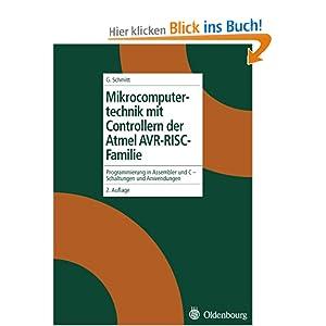 eBook Cover für  Mikrocomputertechnik mit Controllern der Atmel AVR RISC Familie Programmierung in Assembler und C Schaltungen und Anwendungen