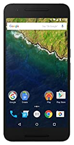 Huawei Nexus 6P Smartphone débloqué 4G (Ecran: 5,7 pouces - 128 Go - Simple Nano-SIM - Android) Noir