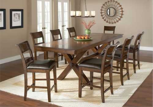 Park Avenue 9-Piece Counter Height Dining Set Buy Cheap | Aolaeo846.