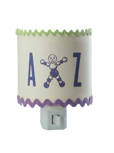 Tree By Kerri Lee Nightlight A to Z, Purple