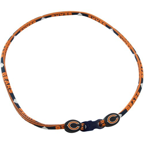 Chicago Bears Titanium Core Sport Necklace - 21 Inch