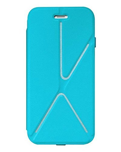 SwitchEasy Rave Reflective Fabric case for iPhone 6, Blue