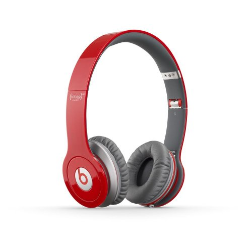 Beats by Dr. Dre Beats Solo HD Special Edition Headphones with ControlTalk from Monster - Red (Old Version) (Iphone Headphones Old Version compare prices)
