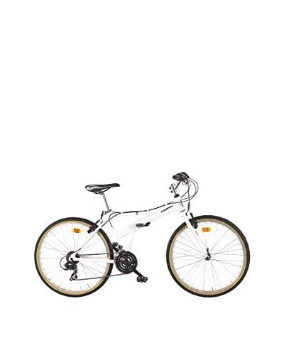 Coppi Bicicleta Plegable Aluminio 26 Folding Blanco
