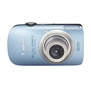Canon PowerShot SD960IS 12.1 MP Digital Camera with 4x Wide Angle Optical Image Stabilized Zoom and 2.8-inch LCD
