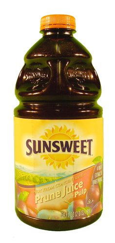 Sunsweet Prune Juice with Pulp - 8 Pack