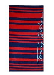 Tommy Hilfiger Signature Stripe Beach Towel(Old Pattern)
