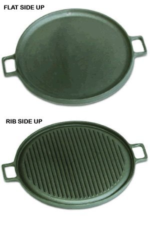 Cast Iron Griddle - Reversible 14