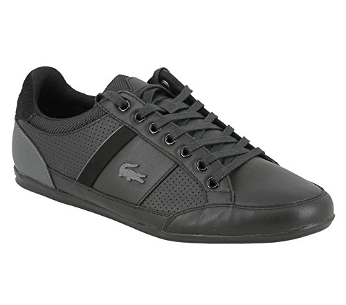 Lacoste Chaymon 316 1 Uomo Formatori Black Grey - 9 UK