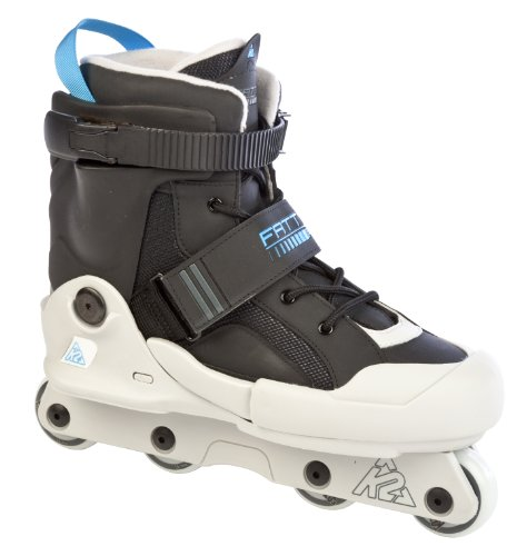 K2 Sports Fatty Pro Aggressive 2012 Inline Skates(Black/Grey/Blue, 9)